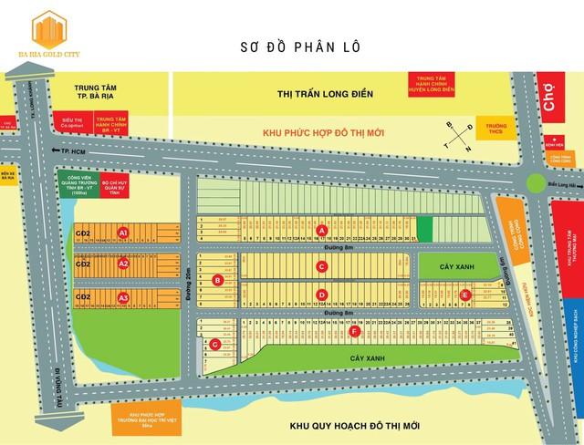5 điểm nhấn đáng đầu tư ở Bà Rịa Gold City - Ảnh 1.