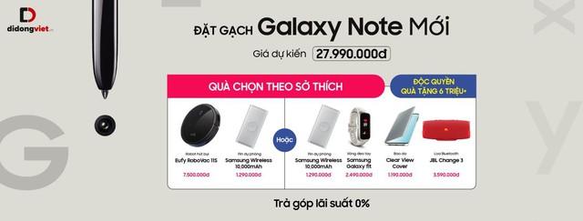 Đặt gạch Samsung Galaxy Note Mới 2019, chọn quà ở đâu bao xịn? - Ảnh 1.