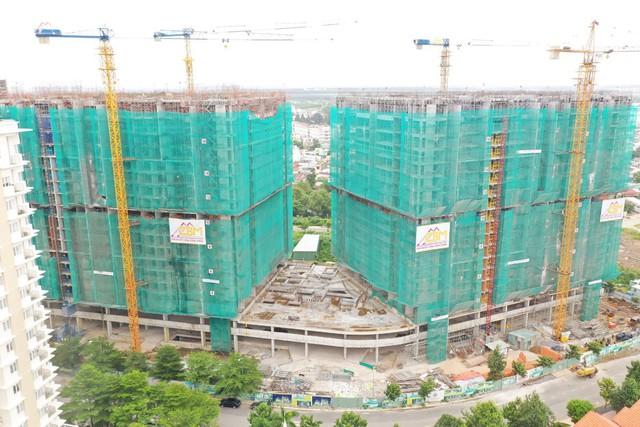 Chính thức cất nóc Topaz Twins - toà tháp đôi căn hộ cao cấp của Biên Hoà - Ảnh 3.