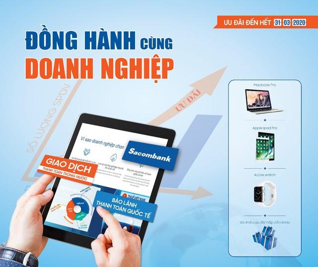 Dịch Vụ Ngân Hàng Hiện Đại Dành Cho Doanh Nghiệp Tại Sacombank - Ảnh 1.