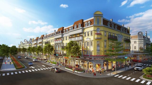 Ra mắt dãy shophouse mặt đường tại Shophouse Europe - Ảnh 1.