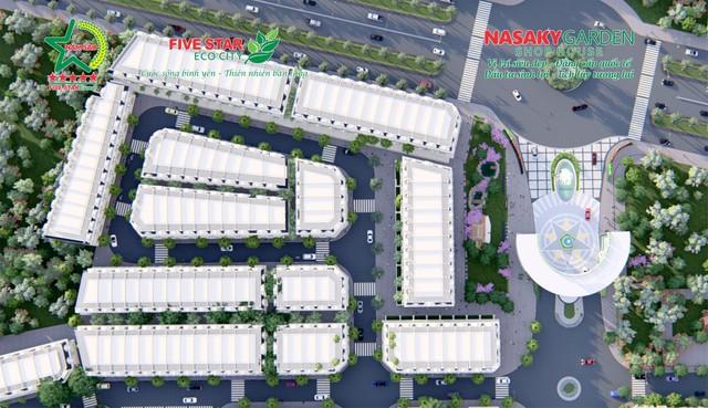 Five Star Eco City chính thứ ra mắt sản phẩm Nasaky Garden Shophouse - Ảnh 1.