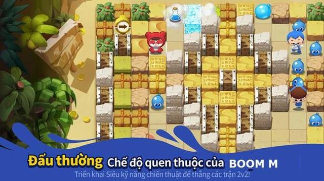 """Boom M tái xuất với 6 chế độ chơi độc đáo tặng giftcode """"nhân phẩm"""" cực xịn cho game thủ - Ảnh 2."""