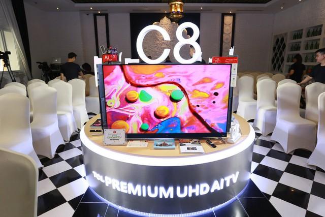 TCL PREMIUM UHD AI TV C8 – Người bạn lý tưởng cho mọi gia đình, úm-ba-la, giải trí thả ga! - Ảnh 1.