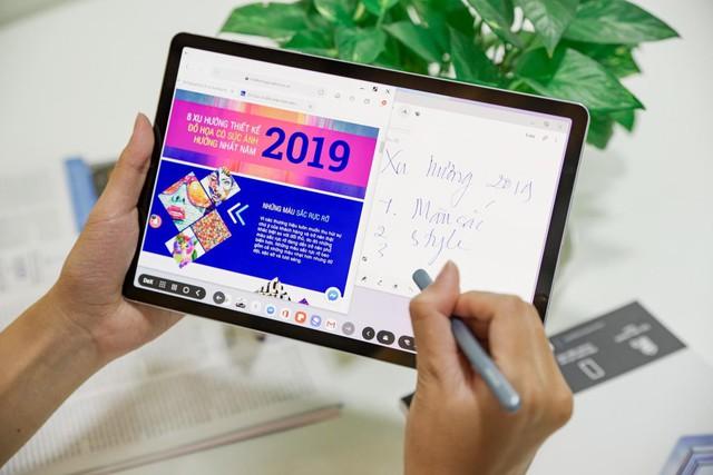 Samsung thay đổi quan niệm cũ Tablet chỉ dùng để giải trí với Galaxy Tab S6 - Ảnh 2.
