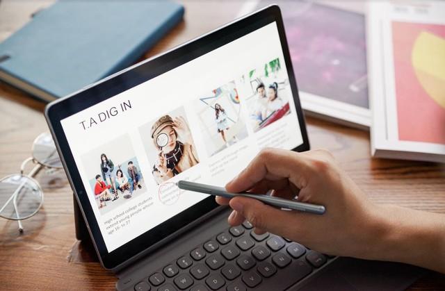 Samsung thay đổi quan niệm cũ Tablet chỉ dùng để giải trí với Galaxy Tab S6 - Ảnh 3.