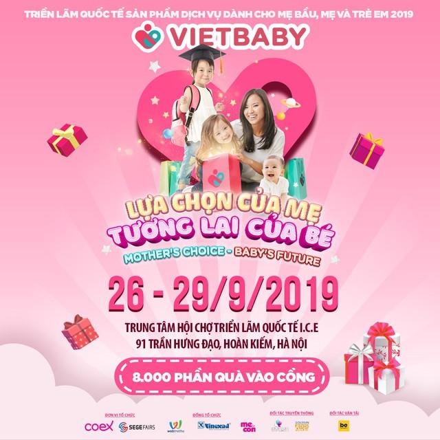 Triển lãm Vietbaby: Địa điểm vui chơi cho bé và không gian mua sắm cho mẹ - Ảnh 1.