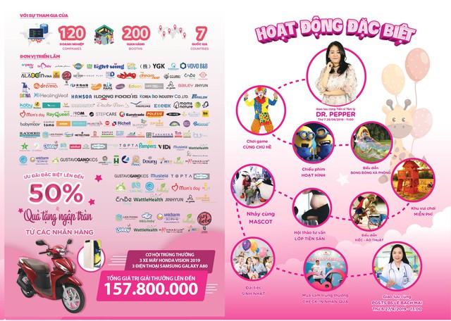 Triển lãm Vietbaby: Địa điểm vui chơi cho bé và không gian mua sắm cho mẹ - Ảnh 2.