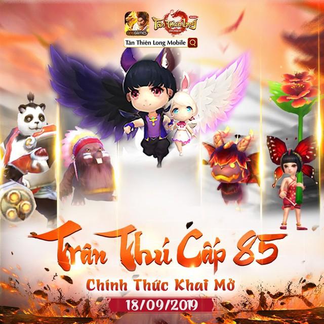 Tần Hoàng Lăng và Trân thú cấp 85, sức hút mới của Tân Thiên Long Mobile - Ảnh 5.