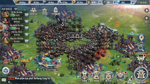 Tam Quốc Vương Giả: Khẳng định là một trong những tựa game SLG tranh đấu hay nhất thị trường game Việt Nam - Ảnh 1.