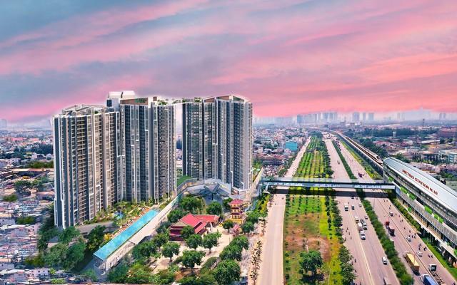 Sky Bridge: điểm ngắm hoàng hôn thơ mộng đông Sài Gòn trong tương lai - Ảnh 1.