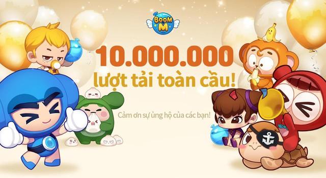 10 triệu lượt tải, hơn 250.000 người chơi cùng lúc: Huyền thoại Boom M trở lại lợi hại gấp nghìn lần! - Ảnh 1.