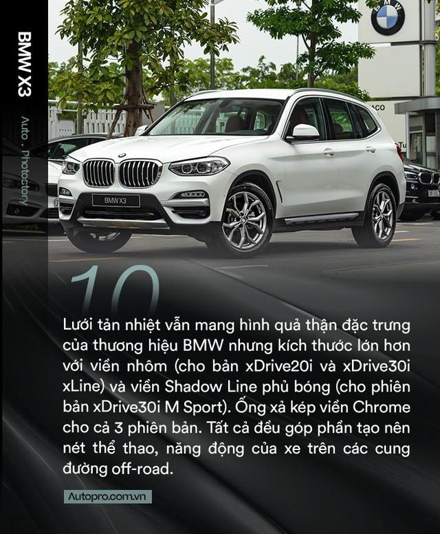 BMW X3 chinh phục khách hàng Việt bằng trang bị - Ảnh 10.