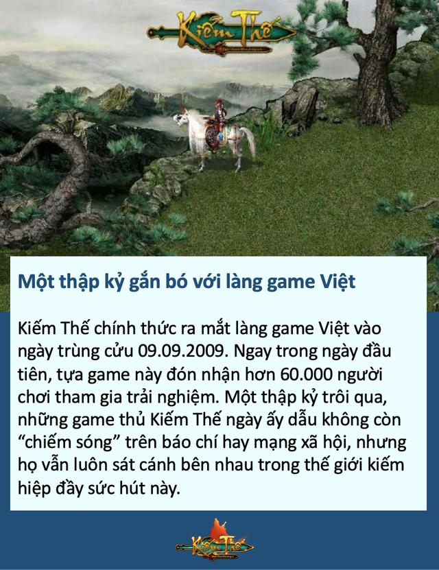 Hành trình 10 năm Kiếm Thế đồng hành cùng game thủ Việt - Ảnh 1.