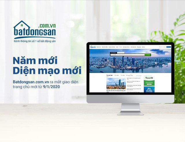 Batdongsan.com.vn chính thức thay giao diện trang chủ mới - Ảnh 1.