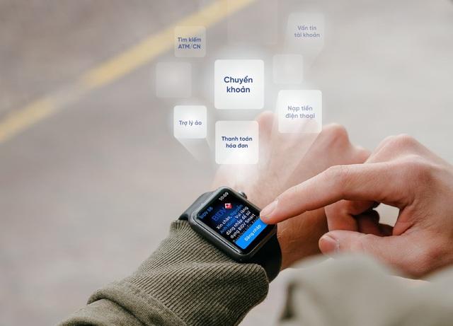 Ứng dụng ngân hàng trên Apple Watch - Bước tiến mới trong cuộc đua phát triển dịch vụ ngân hàng số - Ảnh 1.
