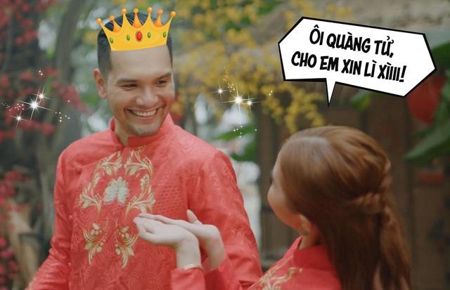 """Lời nguyền xin lì xì của """"em gái"""" Shin Hồng Vịnh cuối cùng đã được Nhikolai Đinh hóa giải bằng trận mưa tài lộc - Ảnh 1."""