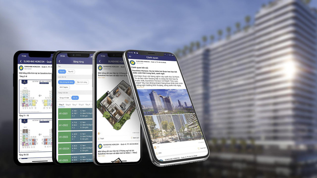 Sunshine App - Xu hướng công nghệ mới trên thị trường bất động sản - Ảnh 2.