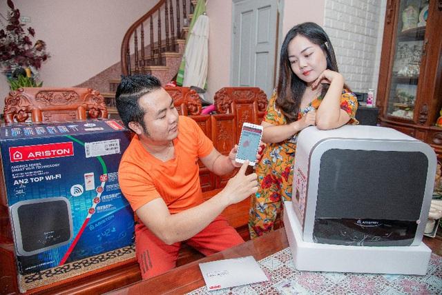 Bình nước nóng Wi-Fi: Giải pháp tiên tiến dành cho các căn hộ thông minh - Ảnh 1.