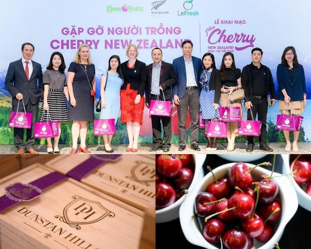 Khai mạc mùa Cherry New Zealand 2020 tại Việt Nam: chính thức ra mắt dòng cherry dành riêng cho người Việt - Ảnh 2.