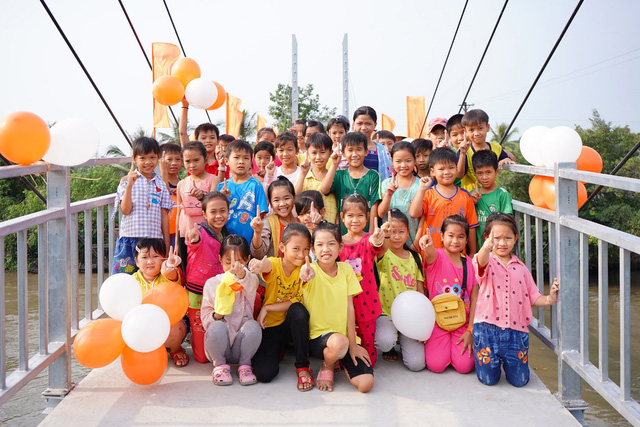 Khánh thành cầu Khang Phúc – Masan Consumer góp phần phát triển nền kinh tế tỉnh Tiền Giang - Ảnh 1.