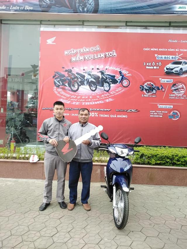 Gần 100.000 khách Việt nhận quà khủng khi mua xe máy Honda, 3 người trúng cả ô tô hơn 800 triệu đồng - Ảnh 3.