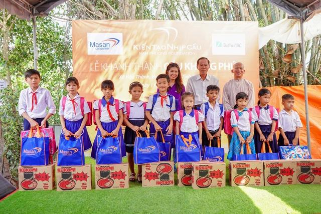 Khánh thành cầu Khang Phúc – Masan Consumer góp phần phát triển nền kinh tế tỉnh Tiền Giang - Ảnh 2.