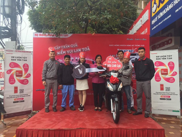 Gần 100.000 khách Việt nhận quà khủng khi mua xe máy Honda, 3 người trúng cả ô tô hơn 800 triệu đồng - Ảnh 4.