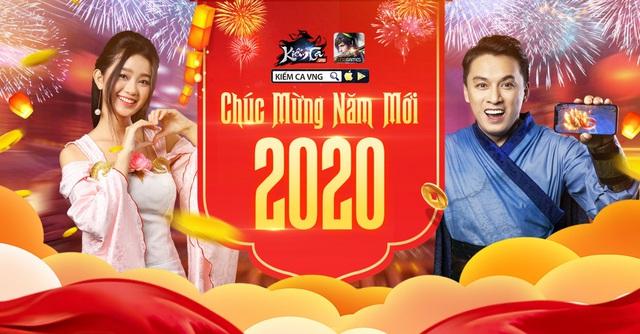 Chào năm mới 2020, Kiếm Ca VNG dành tặng 300 giftcode cho các game thủ - Ảnh 1.