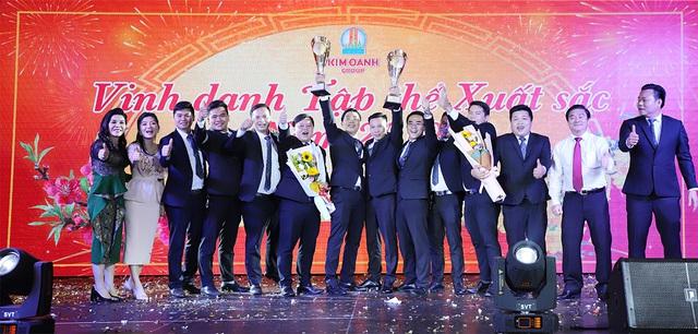 """1.000 nhân viên tham dự gala """"Xuân Khát Vọng"""" của Kim Oanh Group - Ảnh 1."""