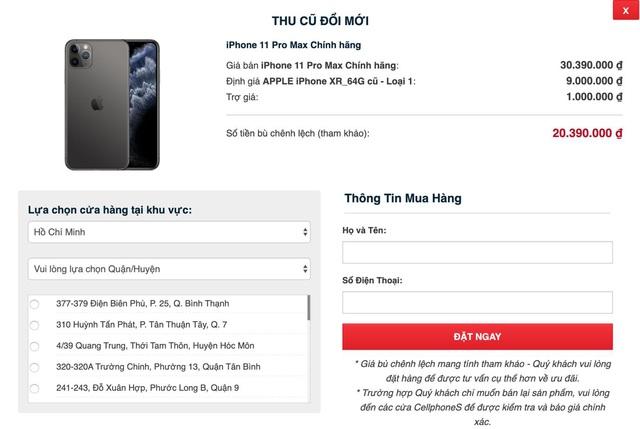 iPhone chính hãng VN/A giảm tận 4 triệu, từ nay đến hết 23/1 tại CellphoneS - Ảnh 3.