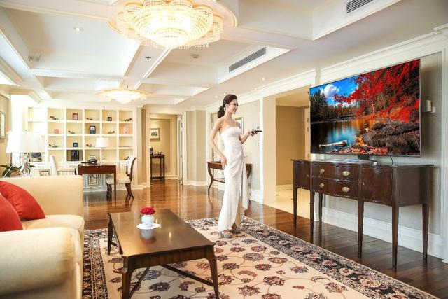 TV LG NanoCell 8K sánh đôi cùng không gian đắt giá tại Hà Nội - Ảnh 2.