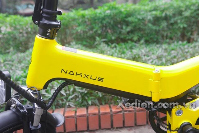 Xe điện gấp Nakxus siêu bền, siêu đẹp gấp gọn chỉ với 2 bước đơn giản - Ảnh 1.