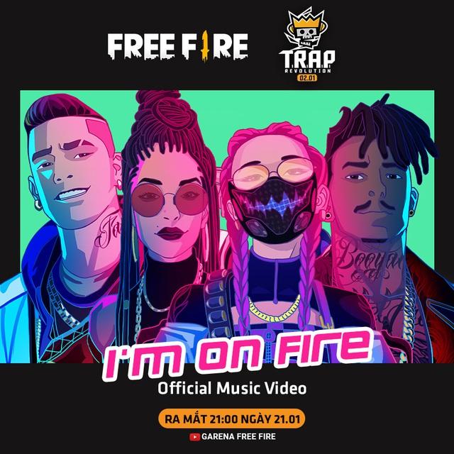 Tiếp nối thành công của những MV triệu view, Free Fire tung nhóm nhạc mới - Ảnh 1.