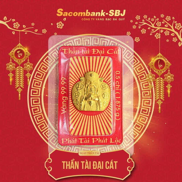 Sacombank-SBJ: Chuyển mình đột phá trong sản xuất vàng Thần Tài 2020 - Ảnh 1.