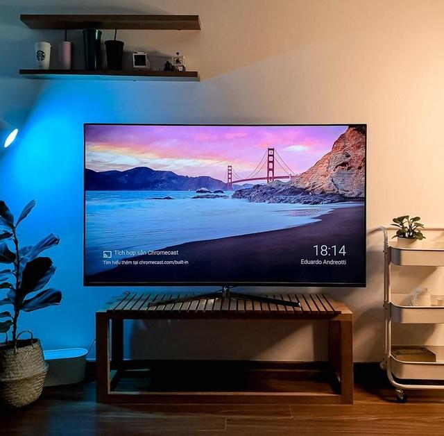 Trải nghiệm tuyệt vời với Casper Android TV 65EG8000: Màn hình 4K HDR, mỏng như iPhone, giá chỉ 25 triệu - Ảnh 1.