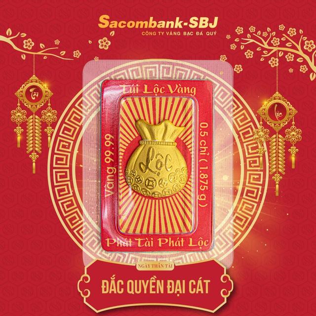 Sacombank-SBJ: Chuyển mình đột phá trong sản xuất vàng Thần Tài 2020 - Ảnh 2.