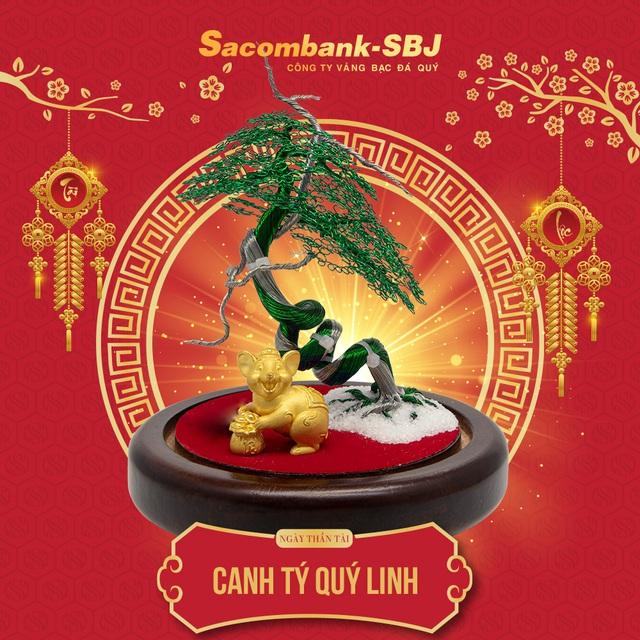 Sacombank-SBJ: Chuyển mình đột phá trong sản xuất vàng Thần Tài 2020 - Ảnh 3.