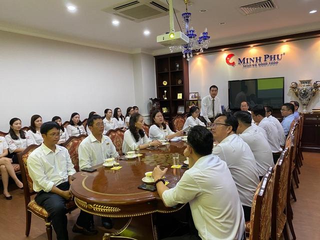 Tập đoàn Thủy sản Minh Phú đưa hệ thống quản trị doanh nghiệp SAP ERP vào vận hành tại các công ty thành viên - Ảnh 1.