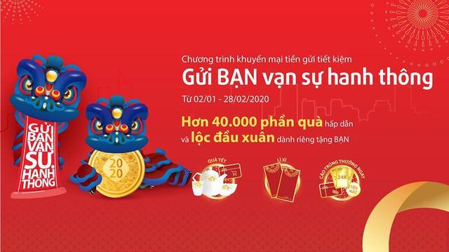 """Ngân hàng Bản Việt """"Gửi BẠN vạn sự hanh thông"""" với quà tặng và lộc đầu năm - Ảnh 1."""