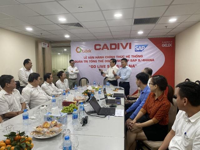 CADIVI chính thức vận hành hệ thống quản trị doanh nghiệp SAP S/4HANA - Ảnh 2.