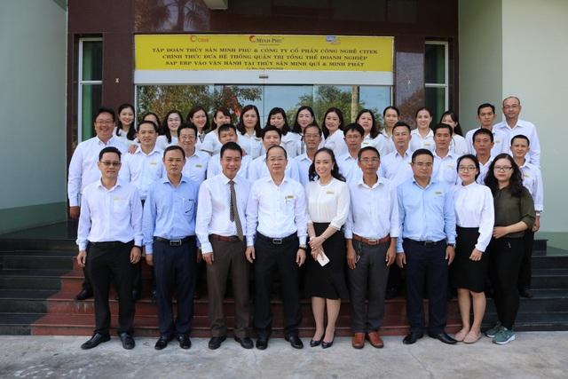 Tập đoàn Thủy sản Minh Phú đưa hệ thống quản trị doanh nghiệp SAP ERP vào vận hành tại các công ty thành viên - Ảnh 2.
