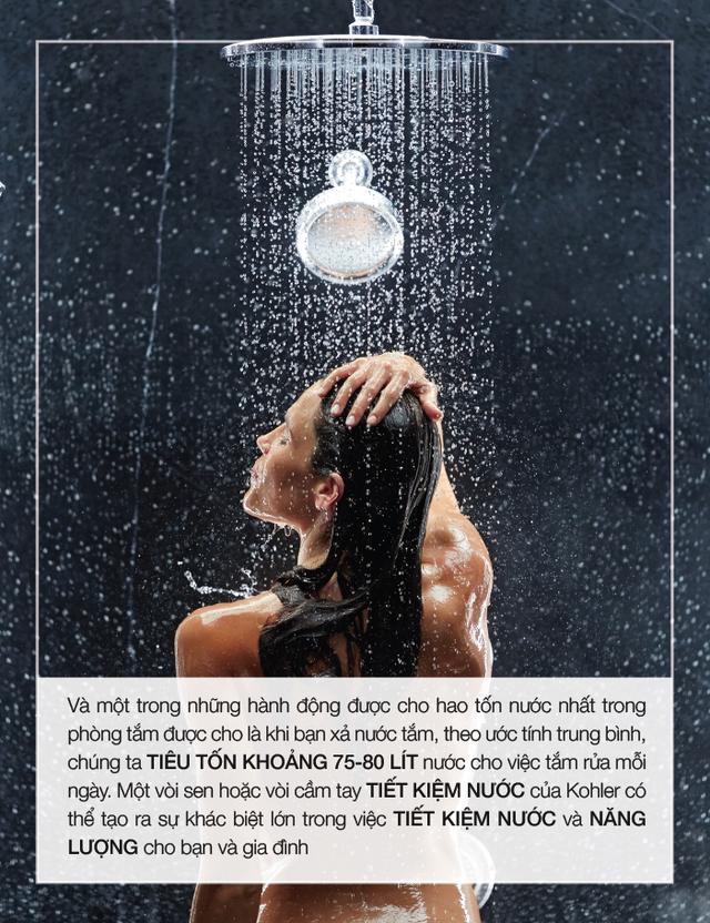 Gợi ý cho bạn cách tiết kiệm nước tại gia đình - Ảnh 4.