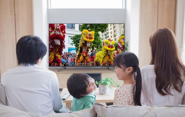Bí quyết chọn mua TV dịp Tết cho fan bóng đá - Ảnh 1.