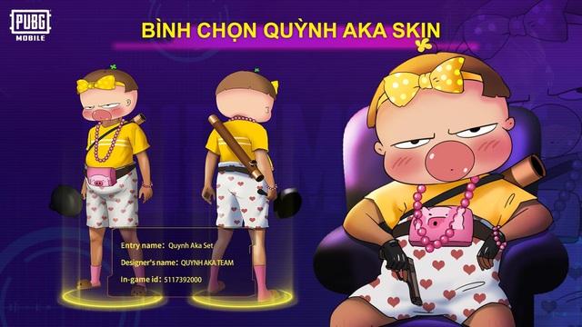 Mắt tròn mắt dẹt với những thiết kế trang phục đỉnh cao từ các game thủ PUBG Mobile, Quỳnh Aka nhanh chóng lọt vào top 5 - Ảnh 1.