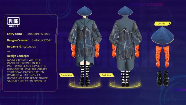Mắt tròn mắt dẹt với những thiết kế trang phục đỉnh cao từ các game thủ PUBG Mobile, Quỳnh Aka nhanh chóng lọt vào top 5 - Ảnh 4.