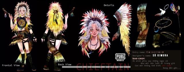 Mắt tròn mắt dẹt với những thiết kế trang phục đỉnh cao từ các game thủ PUBG Mobile, Quỳnh Aka nhanh chóng lọt vào top 5 - Ảnh 5.