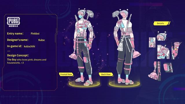 Mắt tròn mắt dẹt với những thiết kế trang phục đỉnh cao từ các game thủ PUBG Mobile, Quỳnh Aka nhanh chóng lọt vào top 5 - Ảnh 6.