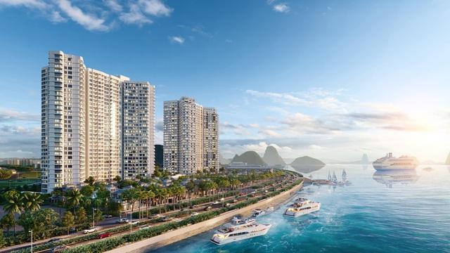 Dự án căn hộ nghỉ dưỡng cao cấp của Chủ đầu tư DOJILAND tại số 1 Bến Đoan, phường Hồng Gai, TP. Hạ Long