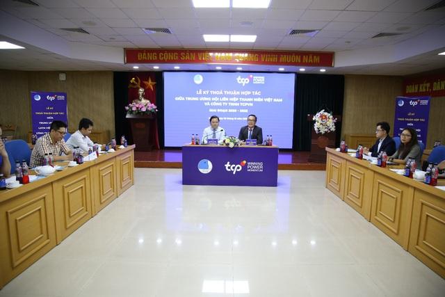 Trung ương Hội LHTN Việt Nam và Công ty TNHH TCPVN ký thỏa thuận hợp tác - Ảnh 4.